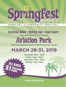 SpringFest Redondo Beach 2019