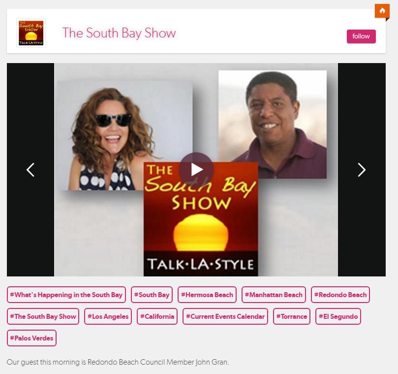 South Bay Show - November 21st, 2019